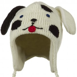 Toddler Animal Wool Ski Hat
