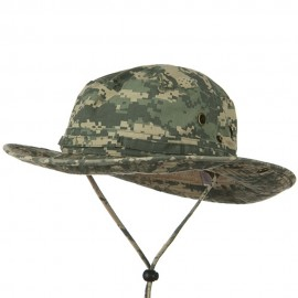 Big Size Washed Hunting Hats -Digital Camo