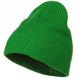 Eco Cotton Ribbed XL Classic Beanie - Kelly