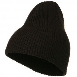Big Stretch Waffle Stitch Short Beanie