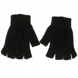 Fingerless Magic Glove-Black
