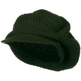 Crown Plain Beanie Visor