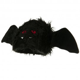 Bat Hat - Black Red