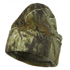 Light Weight Fleece Camo Watch Cap