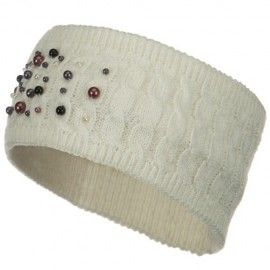 Knit Head Band with Pearl