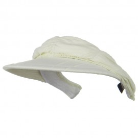 Cotton Convertible Clip On Visor