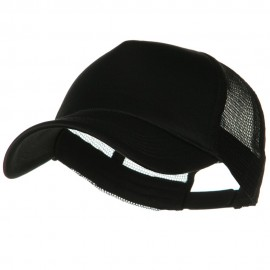 Big Foam Mesh Truck Cap - Black
