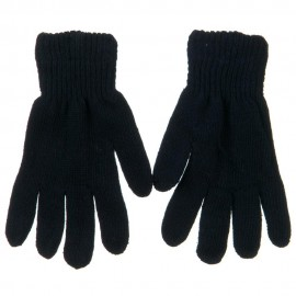 Men's Plain Knit Glove