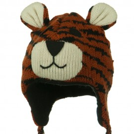 Adult Animal Wool Ski Beanie
