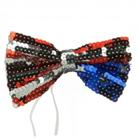 Bow Tie - Red White Blue