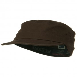 Flexifit Top Gun Garment Washed Cap - Brown