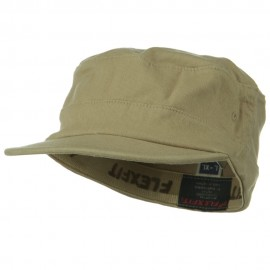 Flexifit Top Gun Garment Washed Cap - Khaki