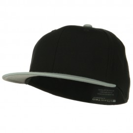 Wool Blend Flat Visor Premium Fitted Cap