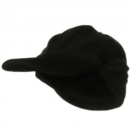 Oversize Fleece Warmer Flap Cap