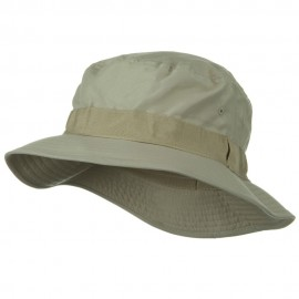 Water Repellent Microfiber Golfer Hat - Khaki