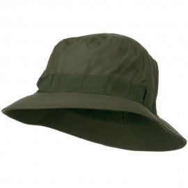 Water Repellent Microfiber Golfer Hat - Olive