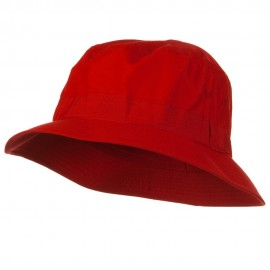 Big Size Microfiber Golfer Hat - Red