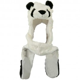 SW Long Mitten Animal Hat - Panda