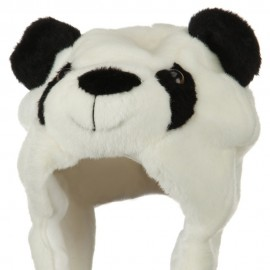 Polyester SW Animal Hat - Panda