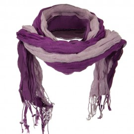 Tie Dye Viscose Long Scarf