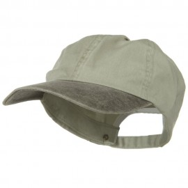 New Big Size Washed Cotton Ball Cap - Putty Brown