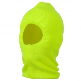 One Hole Thinsulate Face Mask - Neon Yellow