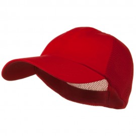 Big Size Summer Twill Mesh Flexible Fitted Cap