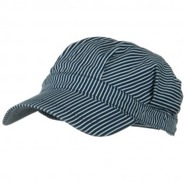 Dark Striped Conductor's Cap