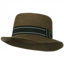 Tweed Porkpie Hat