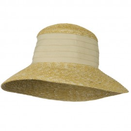 Wheat Straw Medium 4 Inch Brim Hat