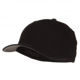 V-Flexfit Cotton Twill Cap - Black