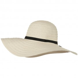 Ladies Fashion Toyo Solid Hat