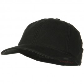 Flexfit Garment Washed Cotton Cap - Black