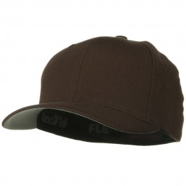Brushed Twill Flexfit Cap - Brown