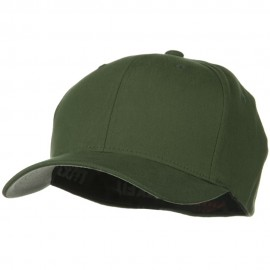 Brushed Twill Flexfit Cap - Pine
