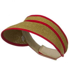 UPF 50+ Woman's Trim Visor