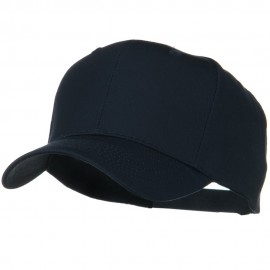 Solid Cotton Twill Pro Style Cap - Navy