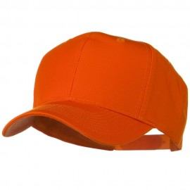 Solid Cotton Twill Pro Style Cap