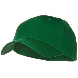 Solid Cotton Twill Low Profile Strap Cap - Kelly