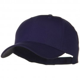 Solid Cotton Twill Low Profile Strap Cap