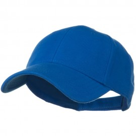 Comfy Cotton Pique Knit Low Profile Cap - Royal