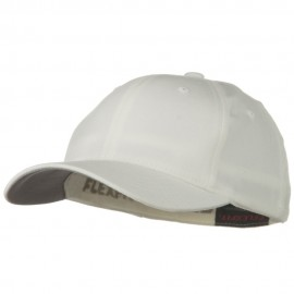 Flexfit Youth Wooly Combed Twill Cap - White