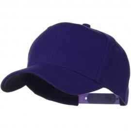Solid Wool Blend Prostyle Snapback Cap