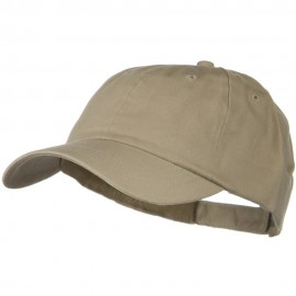 Solid Brushed Cotton Twill Low Profile Cap