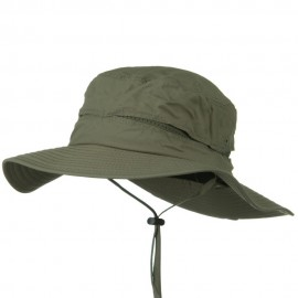 UV 50+ Dual Crown Mesh Talson UV Bucket - Olive