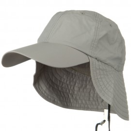 UV 50+ Outdoor Talson UV Flap Cap - Grey