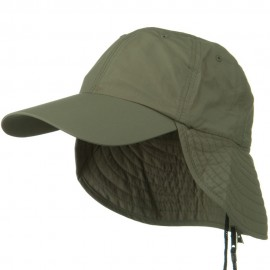 UV 50+ Outdoor Talson UV Flap Cap - Olive
