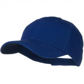 Brushed Bull Denim Low Profile Cap - Royal