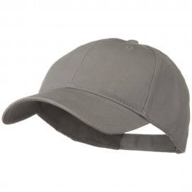 Brushed Bull Denim Low Profile Cap - Grey