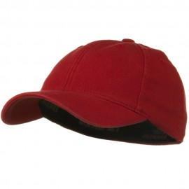 Youth Flexfit Garment Washed Cotton Cap - Red